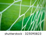 nets of a soccer field | Shutterstock . vector #325090823