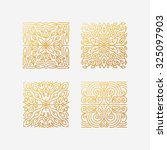 Vector Set Of Abstract Square...