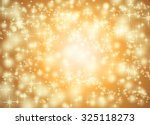 Orange Star Background