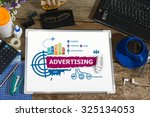 advertising concepts for... | Shutterstock . vector #325134053