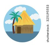 Cottage Colored Vector...