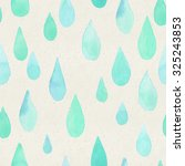 seamless watercolor pattern on... | Shutterstock . vector #325243853