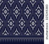 geometric ethnic pattern design ... | Shutterstock .eps vector #325245383