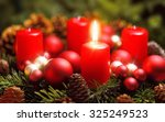 studio shot of a nice advent... | Shutterstock . vector #325249523