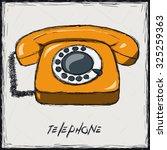 sketch color illustration. sign.... | Shutterstock .eps vector #325259363