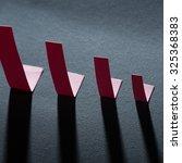 paper diagram show chart of... | Shutterstock . vector #325368383