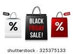 white  black and red black... | Shutterstock .eps vector #325375133
