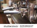 coffee machine in coffee shop | Shutterstock . vector #325390337