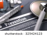prevention. medical concept... | Shutterstock . vector #325424123