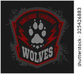 Wolves   Military Label  Badge...