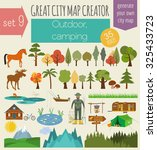 great city map creator. house... | Shutterstock .eps vector #325433723
