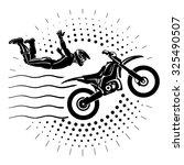 Acrobatic Motorcycles Jump Sho...
