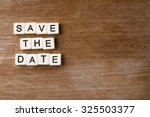 save the date | Shutterstock . vector #325503377
