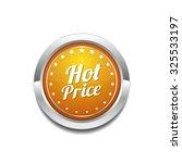 hot price yellow vector icon... | Shutterstock .eps vector #325533197