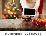desk top and tablet  | Shutterstock . vector #325569383