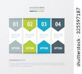 banner vector design  green ... | Shutterstock .eps vector #325597187