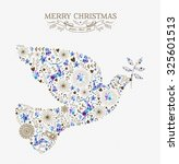 Merry Christmas Peace Dove...