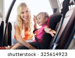 family  transport  safety  road ... | Shutterstock . vector #325614923