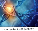 concept of biochemistry with... | Shutterstock . vector #325620023