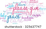 please give word cloud on a... | Shutterstock .eps vector #325637747