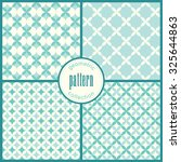 retro seamless pattern vector... | Shutterstock .eps vector #325644863