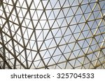 steel structure geometry... | Shutterstock . vector #325704533