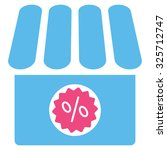 drugstore sale glyph icon.... | Shutterstock . vector #325712747