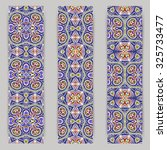 multicolored set of vertical...   Shutterstock .eps vector #325733477
