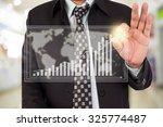 businessman standing posture... | Shutterstock . vector #325774487