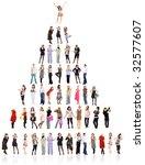 hierarchy | Shutterstock . vector #32577607