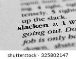 Small photo of Slacken