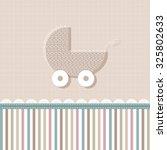 scrapbook design elements. baby ...   Shutterstock .eps vector #325802633