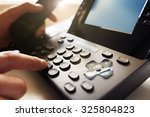 dialing telephone keypad... | Shutterstock . vector #325804823