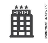 hotel icon | Shutterstock .eps vector #325847477