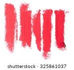 close up of a  lipstick stroke | Shutterstock . vector #325861037