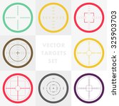 vector collection of simple... | Shutterstock .eps vector #325903703