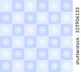 winter seamless pattern.... | Shutterstock .eps vector #325906133