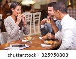 business people having meeting... | Shutterstock . vector #325950803