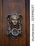 Vintage Door Handle In The...