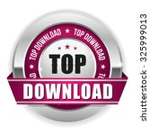 purple top download badge with...