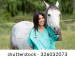 veterinary great performing a... | Shutterstock . vector #326032073