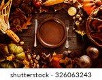 Thanksgiving Dinner. Autumn...
