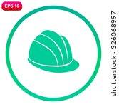 safety hard hat. hard hat icon. ...