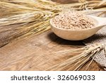 close up of wheat bran in... | Shutterstock . vector #326069033