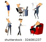 vector illustration of a six... | Shutterstock .eps vector #326081237