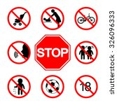 stop sign. without children....