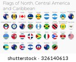 circle flags of the world.... | Shutterstock .eps vector #326140613