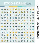 set of colorful icons about... | Shutterstock .eps vector #326143397
