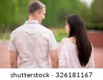 couple of lovers  attractive... | Shutterstock . vector #326181167