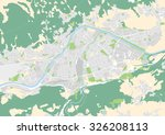 vector city map of innsbruck ... | Shutterstock .eps vector #326208113